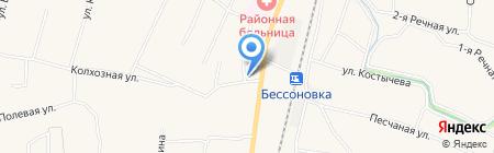 Весна на карте Бессоновки