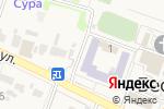 Схема проезда до компании Центр детского творчества Бессоновского района в Бессоновке
