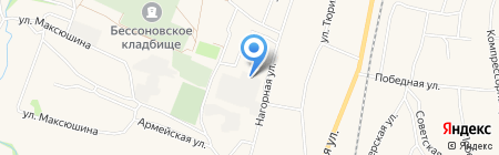 Усадьба на карте Бессоновки