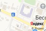 Схема проезда до компании Управление образования Бессоновского района в Бессоновке