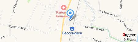 Промстрой на карте Бессоновки