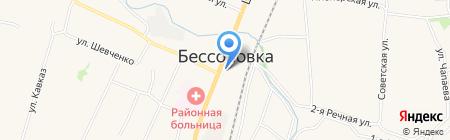 Межрайонная инспекция Федеральной налоговой службы России №3 по Пензенской области на карте Бессоновки