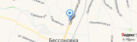 УФК на карте Бессоновки