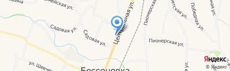 Восторг на карте Бессоновки
