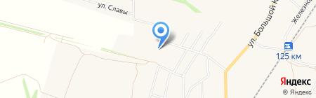 Бессоновский домостроительный комбинат на карте Бессоновки