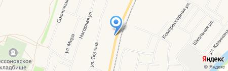 Окраина на карте Бессоновки