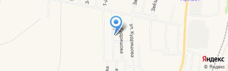 Солнечный на карте Бессоновки