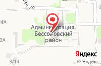 Схема проезда до компании Муниципальный архив Бессоновского района в Бессоновке