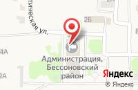 Схема проезда до компании Мировой судья Ефимова Л.П. в Бессоновке