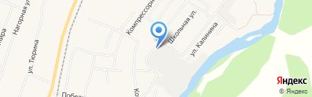Беском на карте Бессоновки