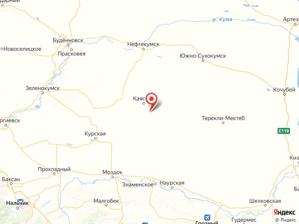 хутор Березкин на карте