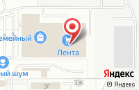 Схема проезда до компании Привада в Пензе