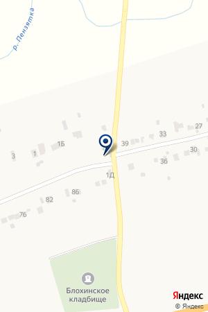 Перекрёсток на карте Черемишево