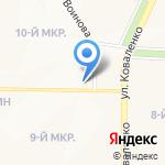 Дам Деньги на карте Саранска