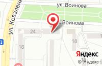 Схема проезда до компании Мордовский Региональный Комитет Гражданского Контроля в Саранске