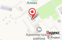 Схема проезда до компании ЗАГС Лямбирского муниципального района в Лямбире