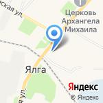 Азалия на карте Саранска