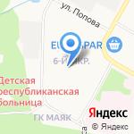 Саранский Дом науки и техники Российского союза научных и инженерных общественных объединений на карте Саранска