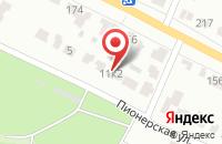 Схема проезда до компании Чайка в Подольске