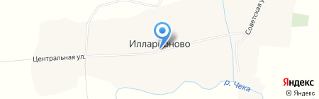 КБ ПриватБанк на карте Илларионово