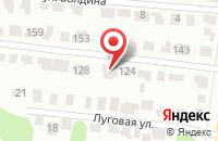 Схема проезда до компании Перекресток Экспресс в Бужарово
