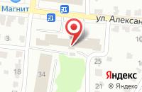 Схема проезда до компании Контакт-Пресс в Саранске