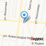 Ленинский районный суд на карте Саранска