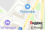 Схема проезда до компании Русский свет в Саранске