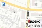Схема проезда до компании 13 элемент в Саранске