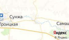Отели города Серноводское на карте