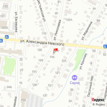 г. Саранск, ул. Николаева,114 на карта