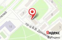 Схема проезда до компании Энергосервис в Заречном