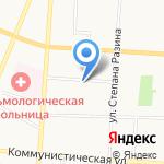 Вега на карте Саранска