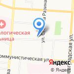 Лэнз на карте Саранска