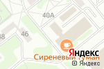 Схема проезда до компании Наша Дача в Заречном