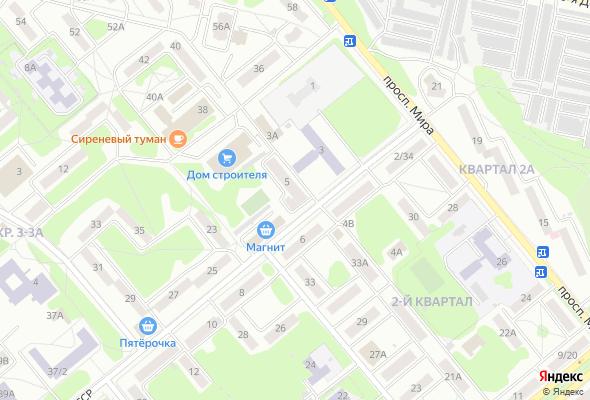 жилой комплекс по ул. Конституции СССР