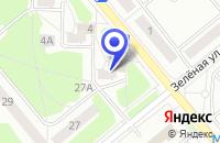 Схема проезда до компании ТФ ТЕРМОДОМ в Заречном