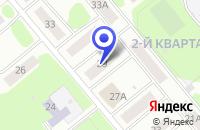 Схема проезда до компании ТФ ПОЛЕТ в Заречном