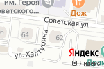 Схема проезда до компании Центр экспертизы и оценки в Саранске