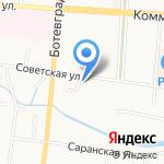 Первый визовый центр на карте Саранска