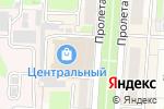 Схема проезда до компании Мега-мастер в Саранске