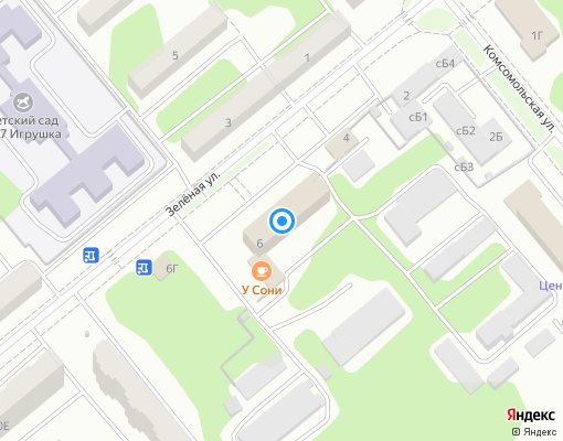 Управляющая компания «МУП ЖСКХ» на карте Заречного
