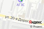Схема проезда до компании Спецприбор в Заречном