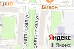 Схема проезда до компании Наташа в Саранске