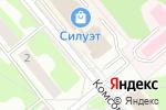 Схема проезда до компании Планета канцелярии в Заречном