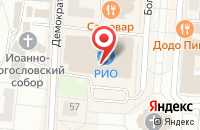 Схема проезда до компании Республиканская Типография «Красный Октябрь» в Саранске
