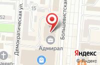 Схема проезда до компании Бизнес-клуб в Саранске