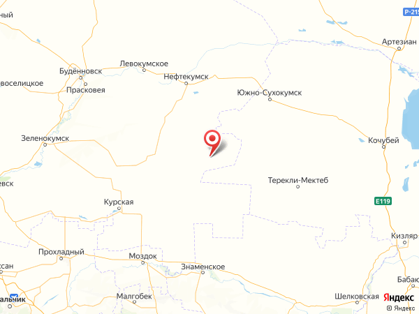 аул Тукуй-Мектеб на карте