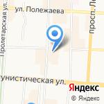 Роллкин на карте Саранска