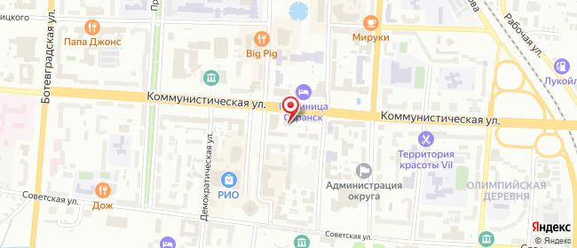 Карта расположения пункта доставки Халва в городе Саранск